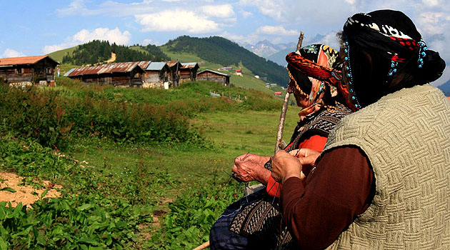 Быт турецкой деревни
